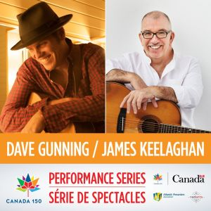 Canada 150 Performance Series Social Media Promo - Dave Gunning James Keelaghan